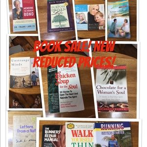 Books on sale!Help me clean out my closet!😀